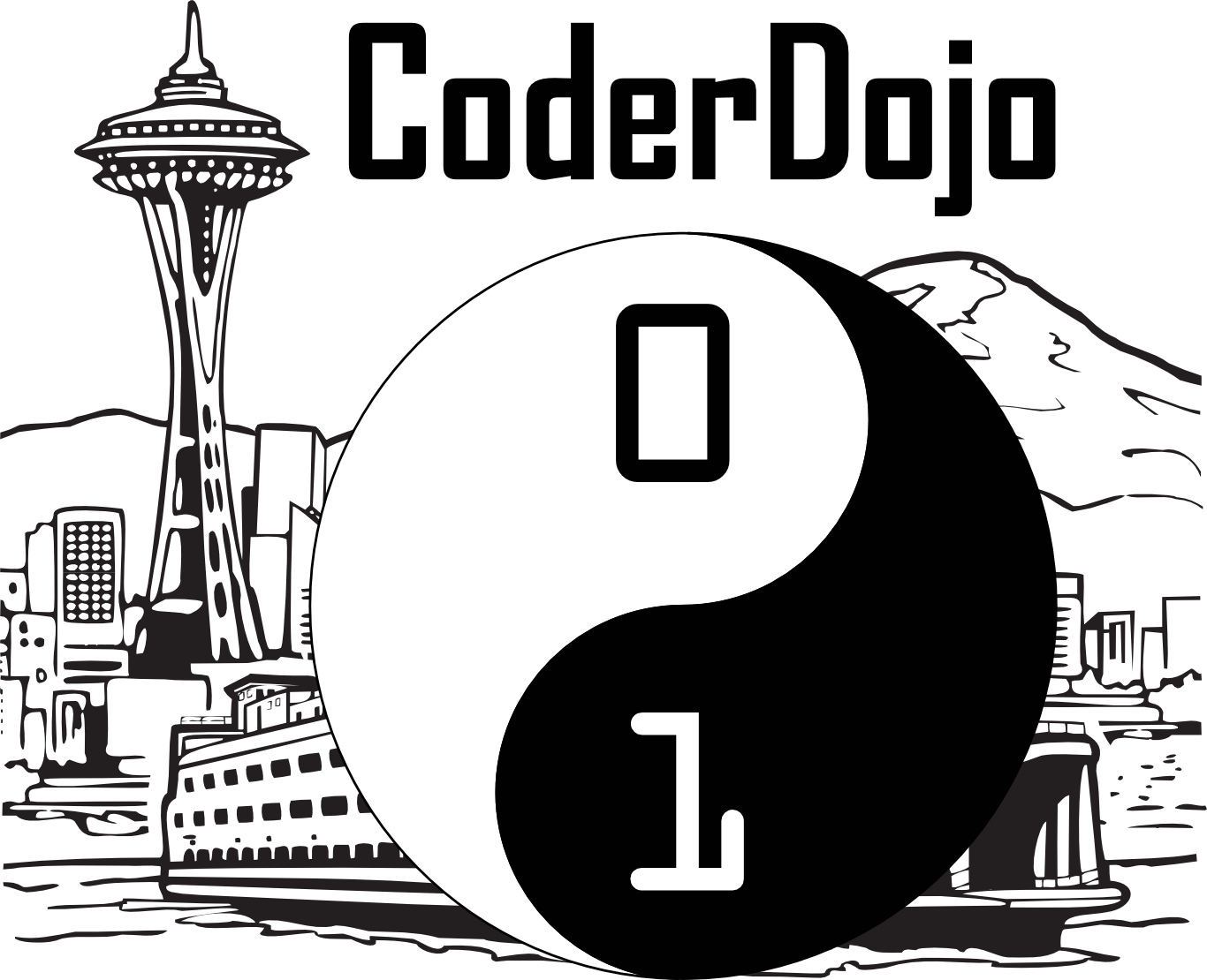 Seattle CoderDojo Logo