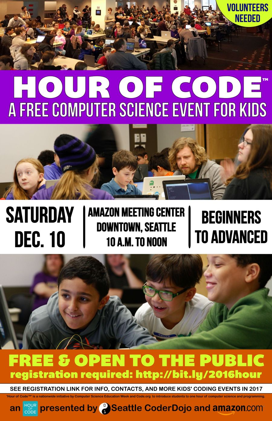 Hour of Code Event Poster